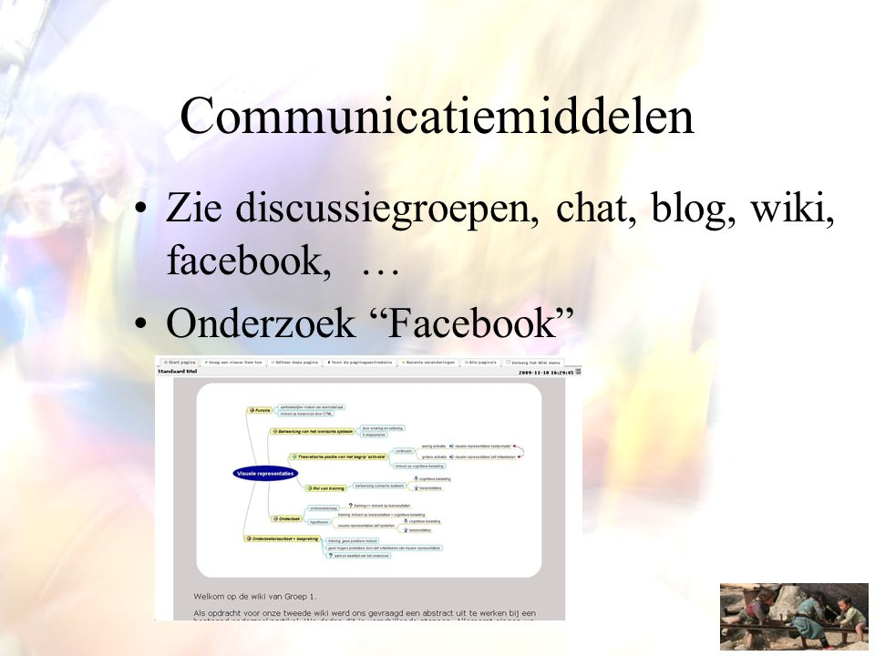 Communicatiemiddelen