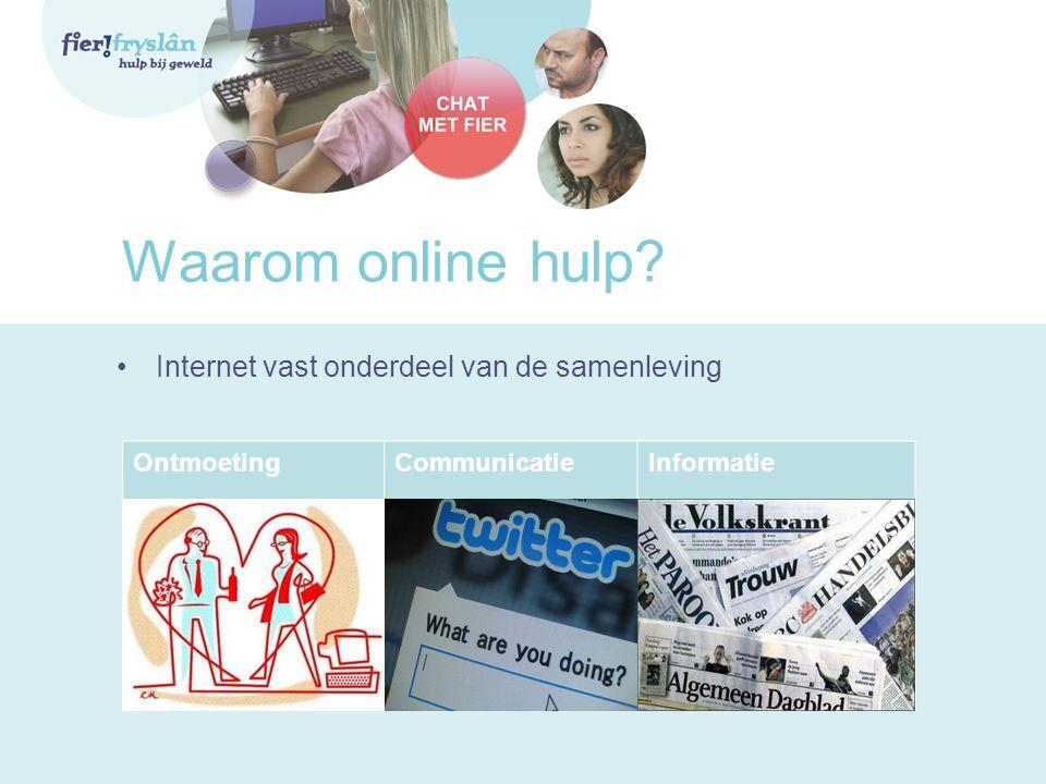 Waarom online hulp Internet vast onderdeel van de samenleving