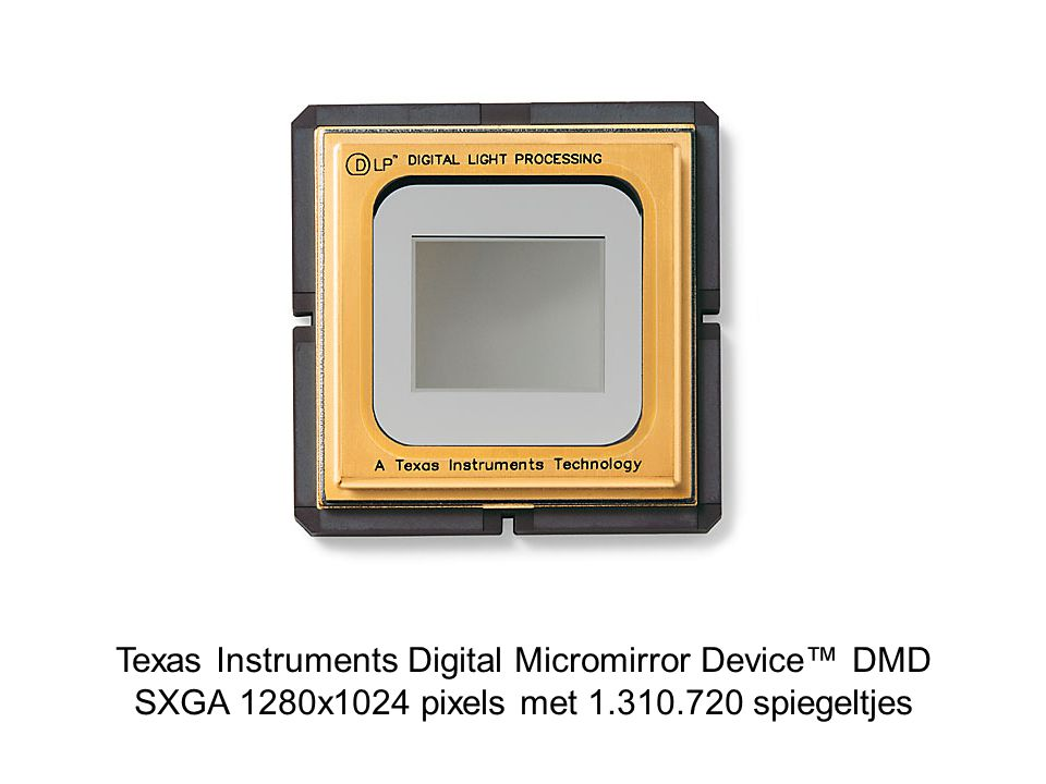 Texas Instruments Digital Micromirror Device™ DMD