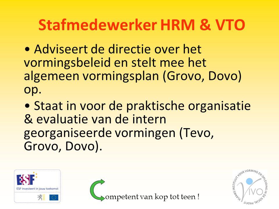 Stafmedewerker HRM & VTO