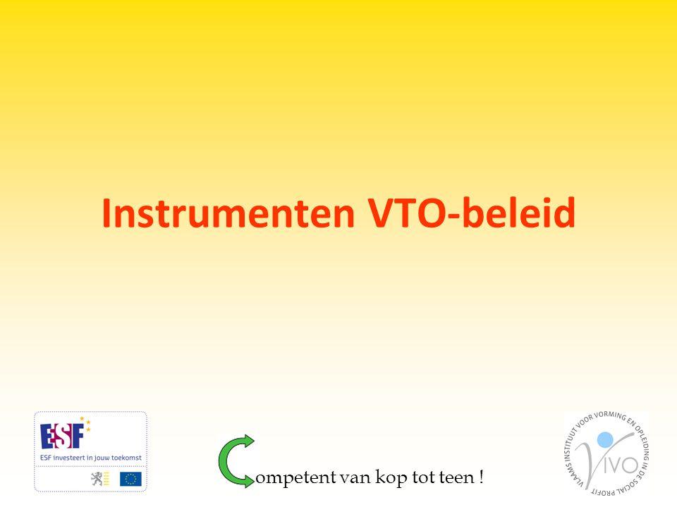 Instrumenten VTO-beleid