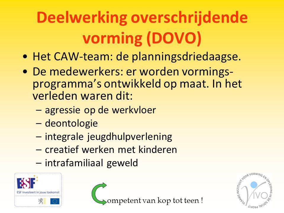 Deelwerking overschrijdende vorming (DOVO)