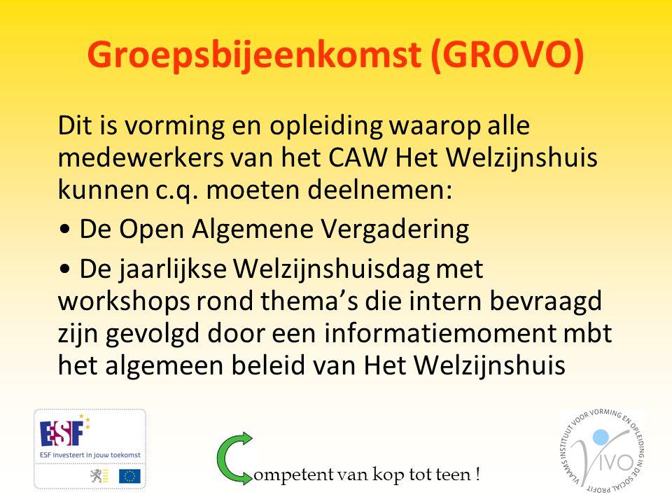 Groepsbijeenkomst (GROVO)