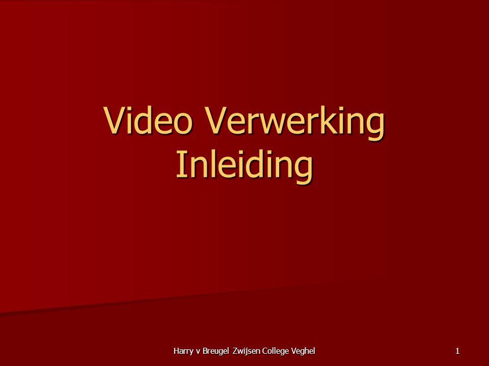 Video Verwerking Inleiding