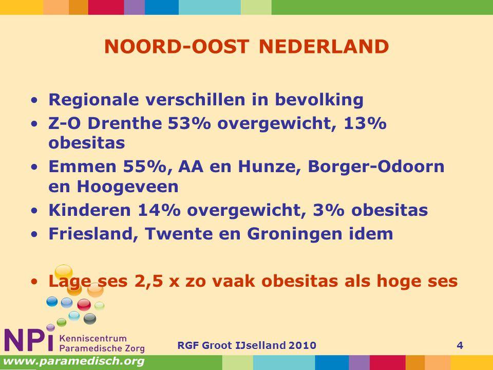 NOORD-OOST NEDERLAND Regionale verschillen in bevolking