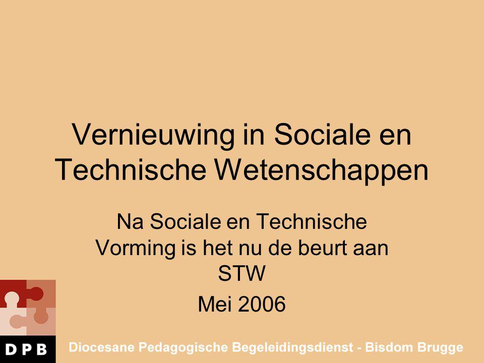 Vernieuwing in Sociale en Technische Wetenschappen