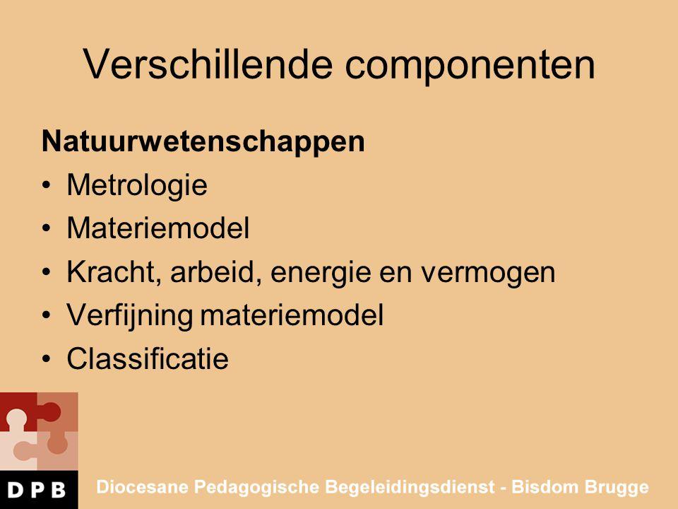 Verschillende componenten