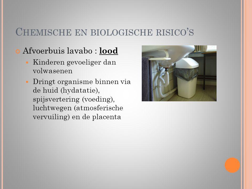 Chemische en biologische risico's