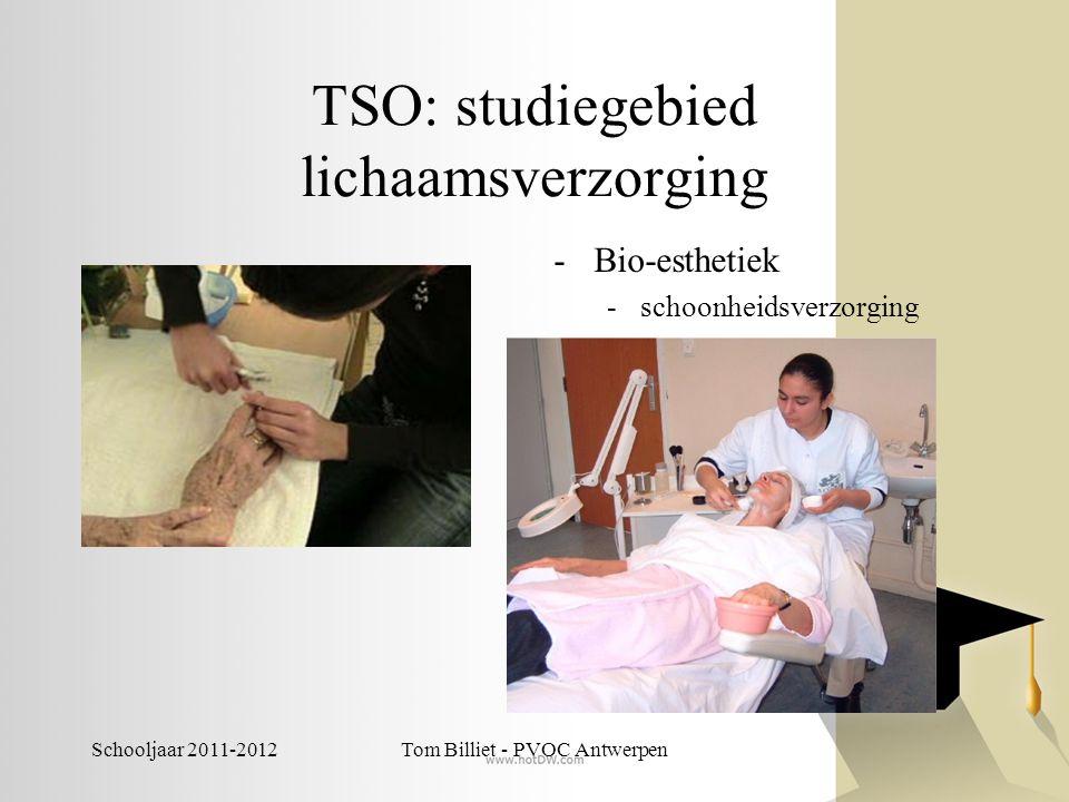 TSO: studiegebied lichaamsverzorging