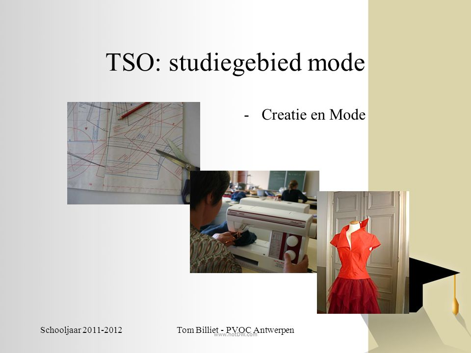 TSO: studiegebied mode