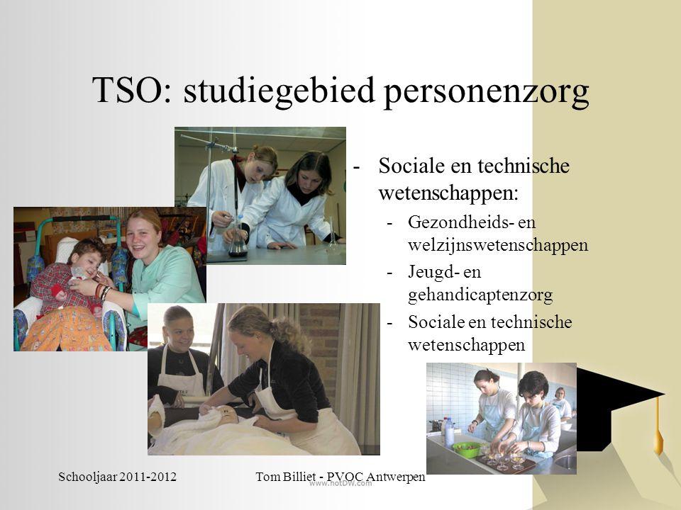 TSO: studiegebied personenzorg