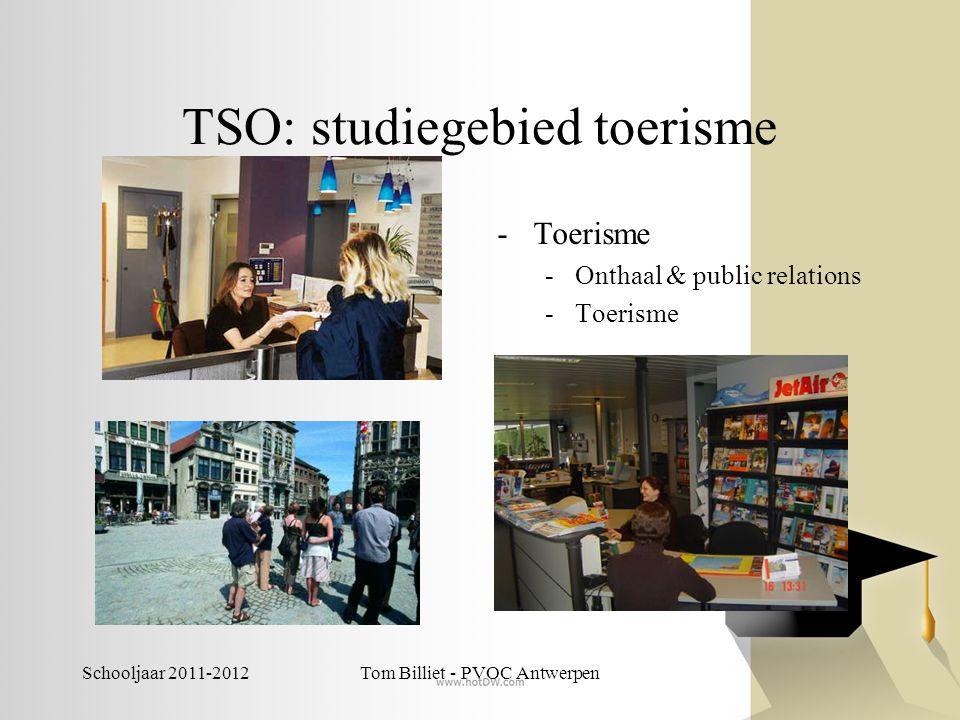 TSO: studiegebied toerisme