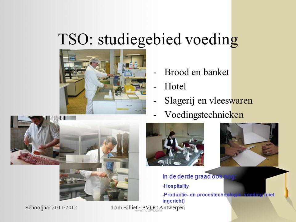 TSO: studiegebied voeding