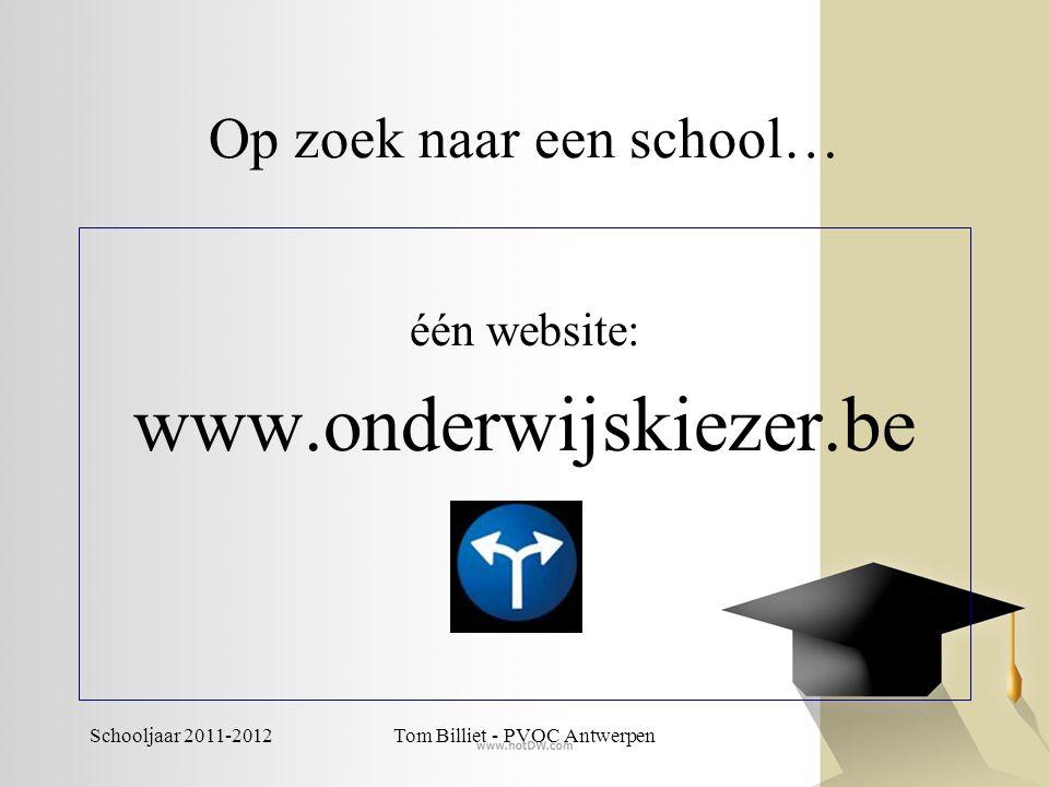 Op zoek naar een school…