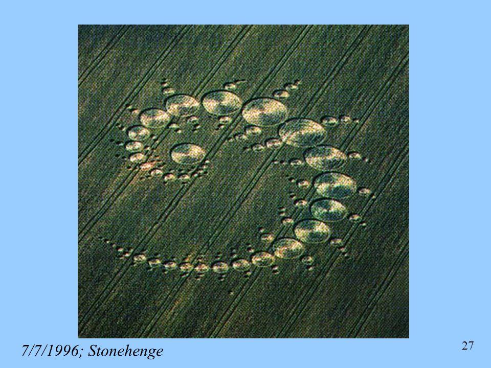 7/7/1996; Stonehenge