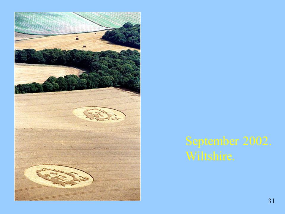 September 2002. Wiltshire.