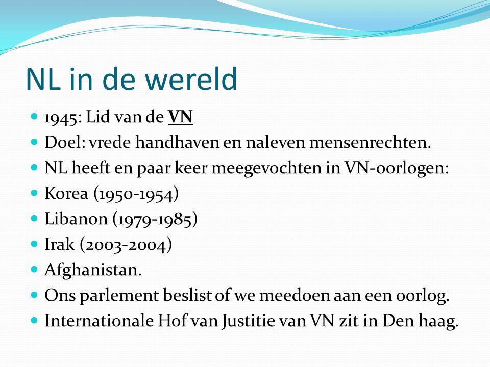 NL in de wereld 1945: Lid van de VN
