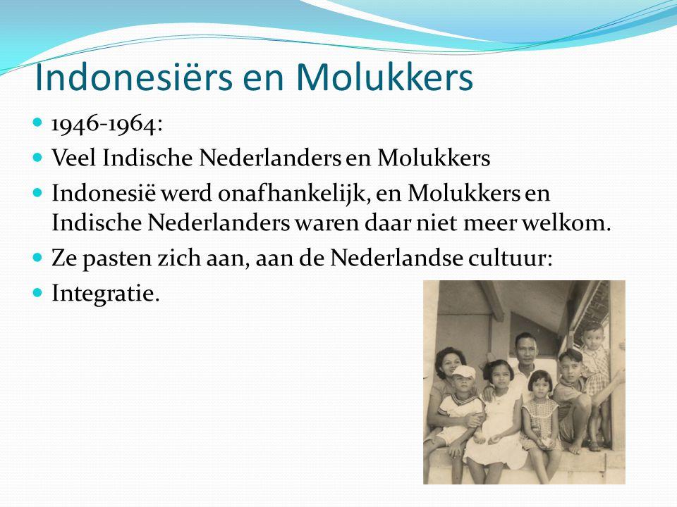 Indonesiërs en Molukkers