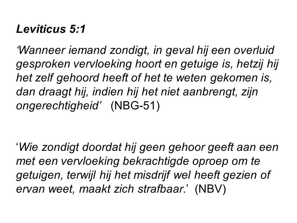 Leviticus 5:1