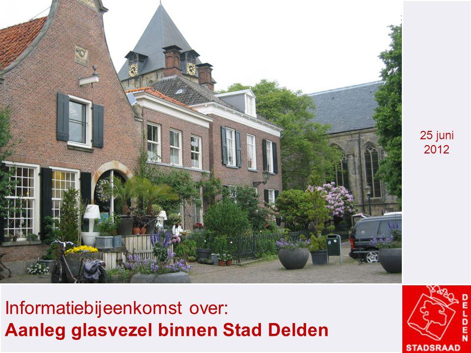 Informatiebijeenkomst over: Aanleg glasvezel binnen Stad Delden