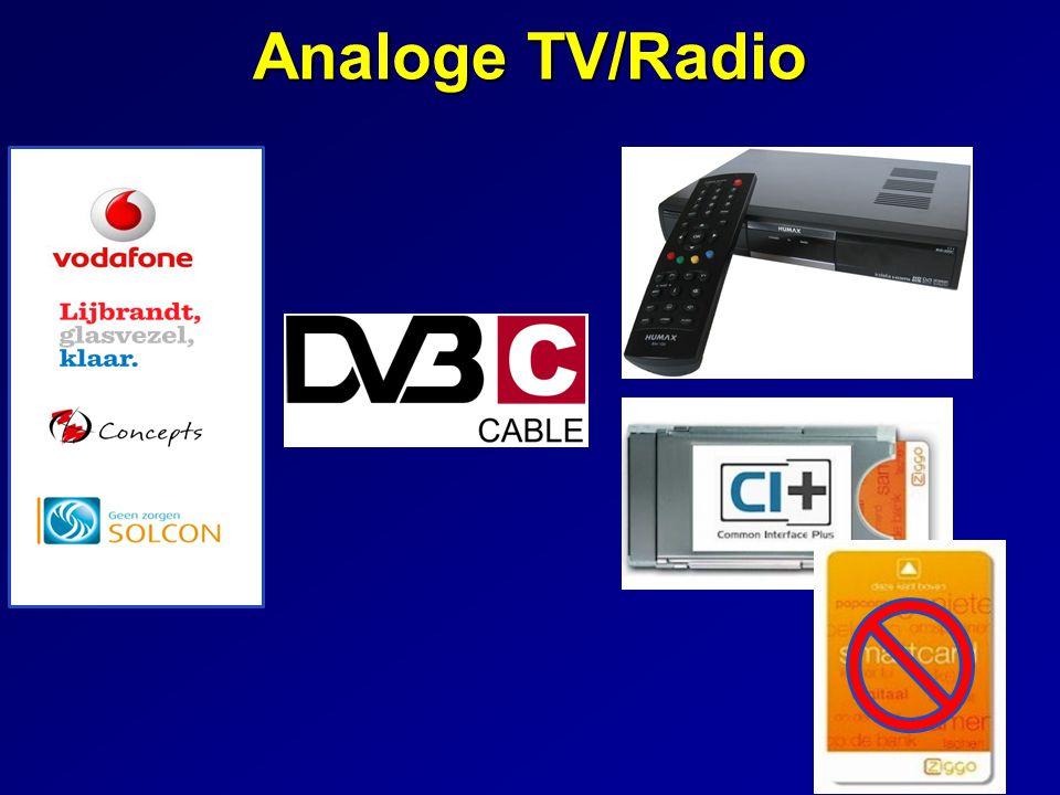 Analoge TV/Radio