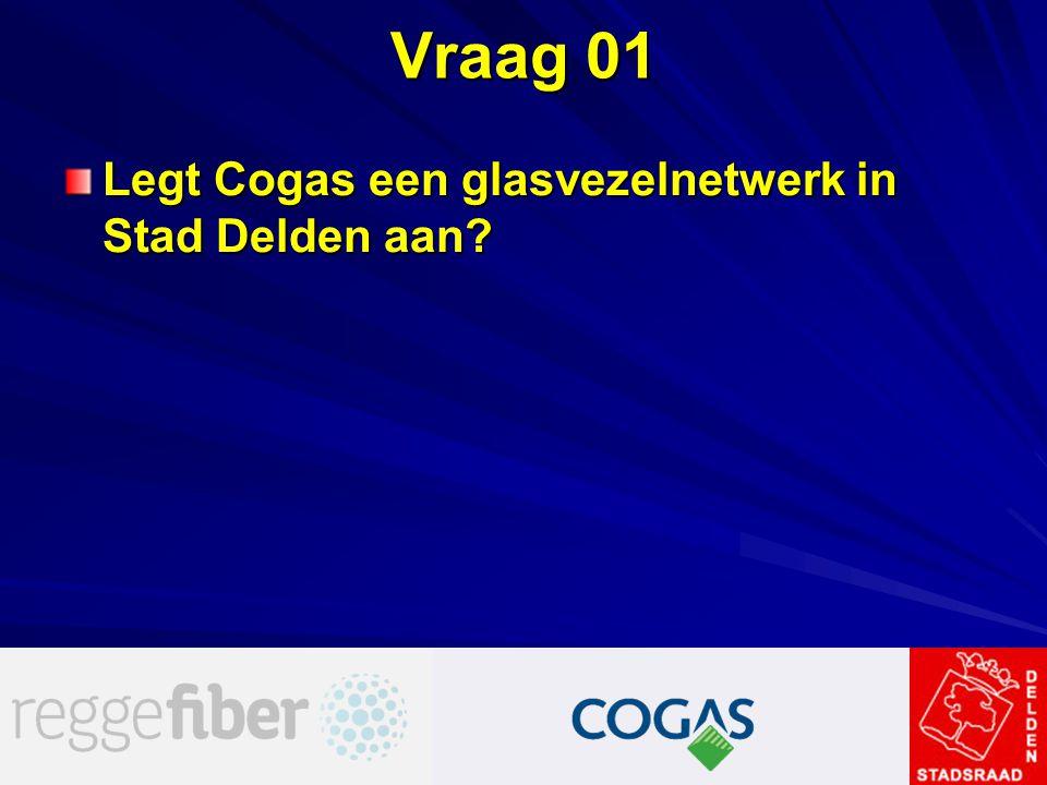 Vraag 01 Legt Cogas een glasvezelnetwerk in Stad Delden aan