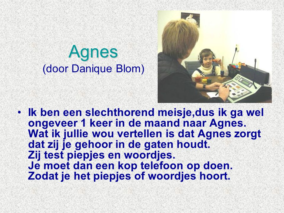 Agnes (door Danique Blom)