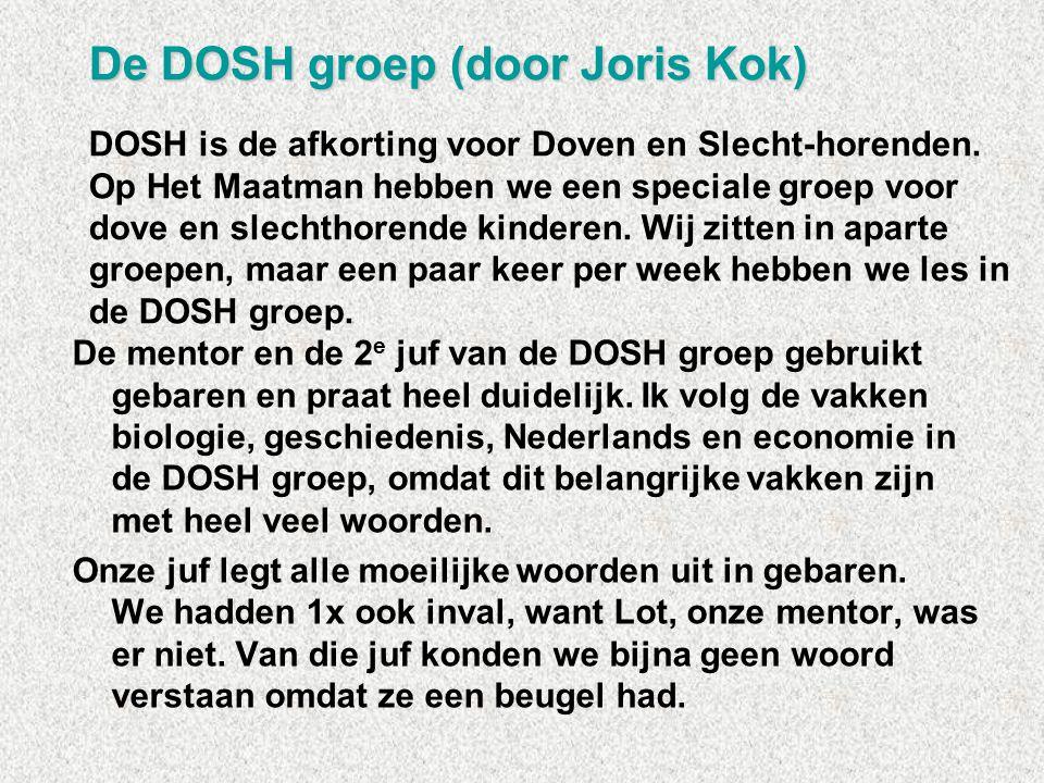 De DOSH groep (door Joris Kok)