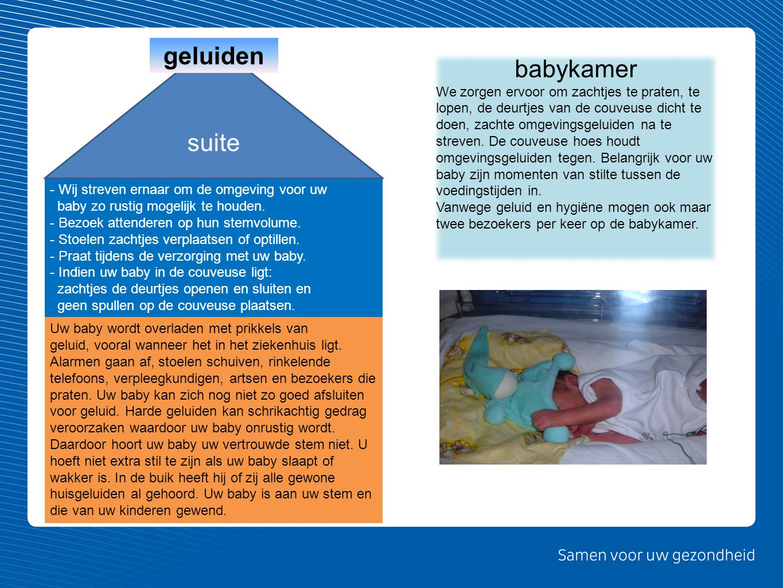 geluiden babykamer suite