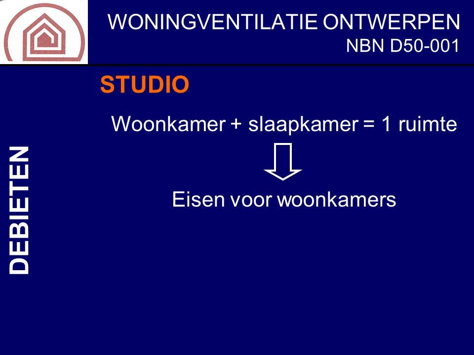 Woonkamer + slaapkamer = 1 ruimte
