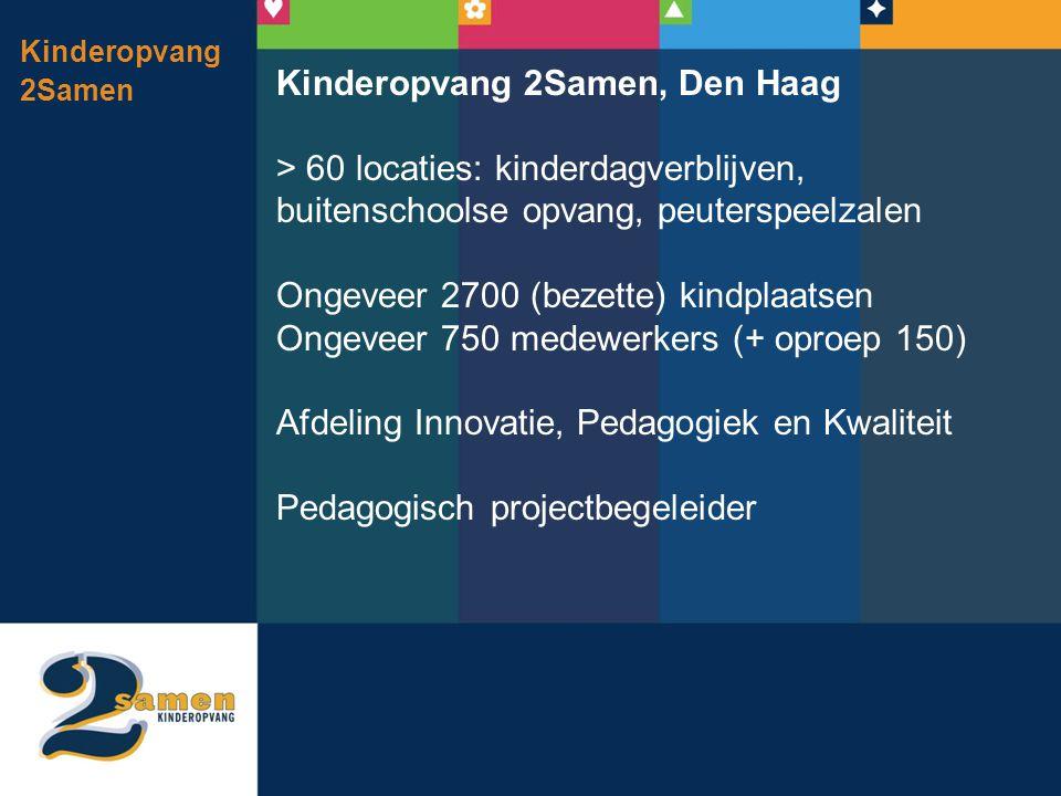 Kinderopvang 2Samen, Den Haag