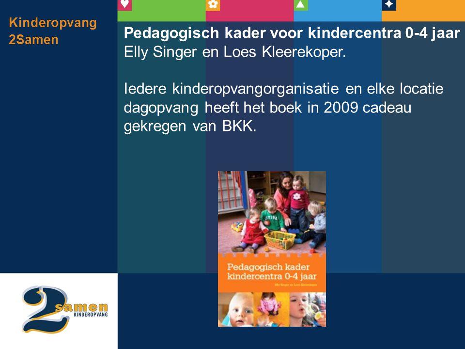 Pedagogisch kader voor kindercentra 0-4 jaar