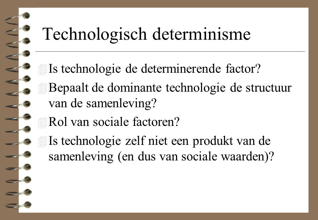 Technologisch determinisme