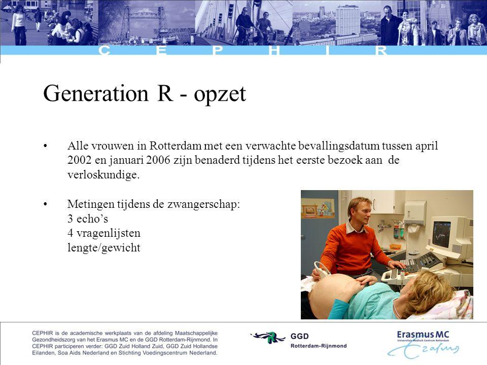 Generation R - opzet