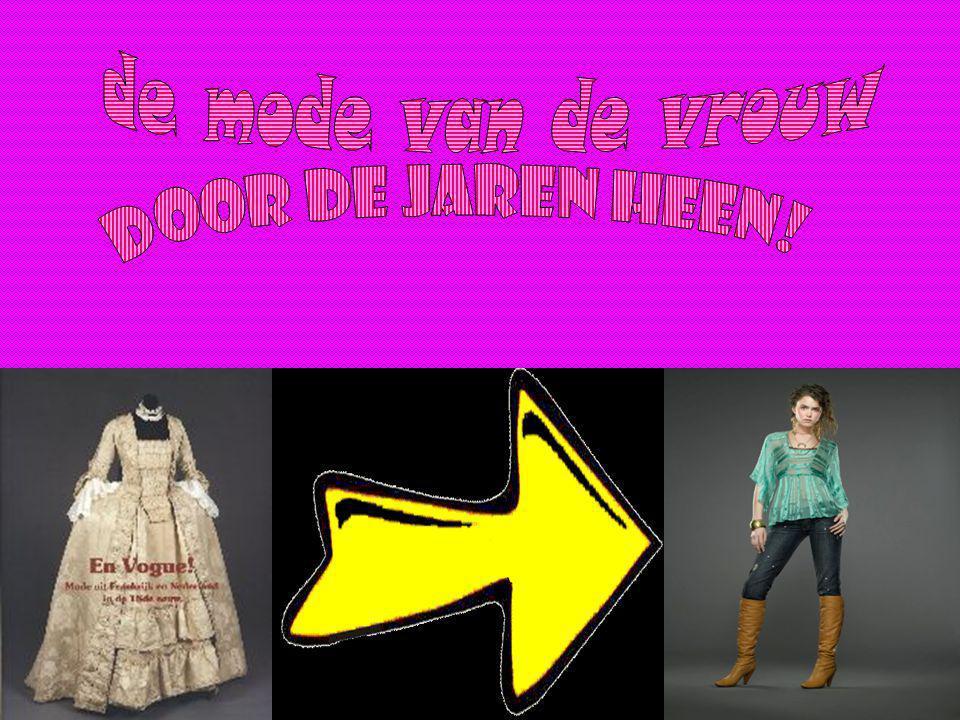 de mode van de vrouw door de jaren heen!