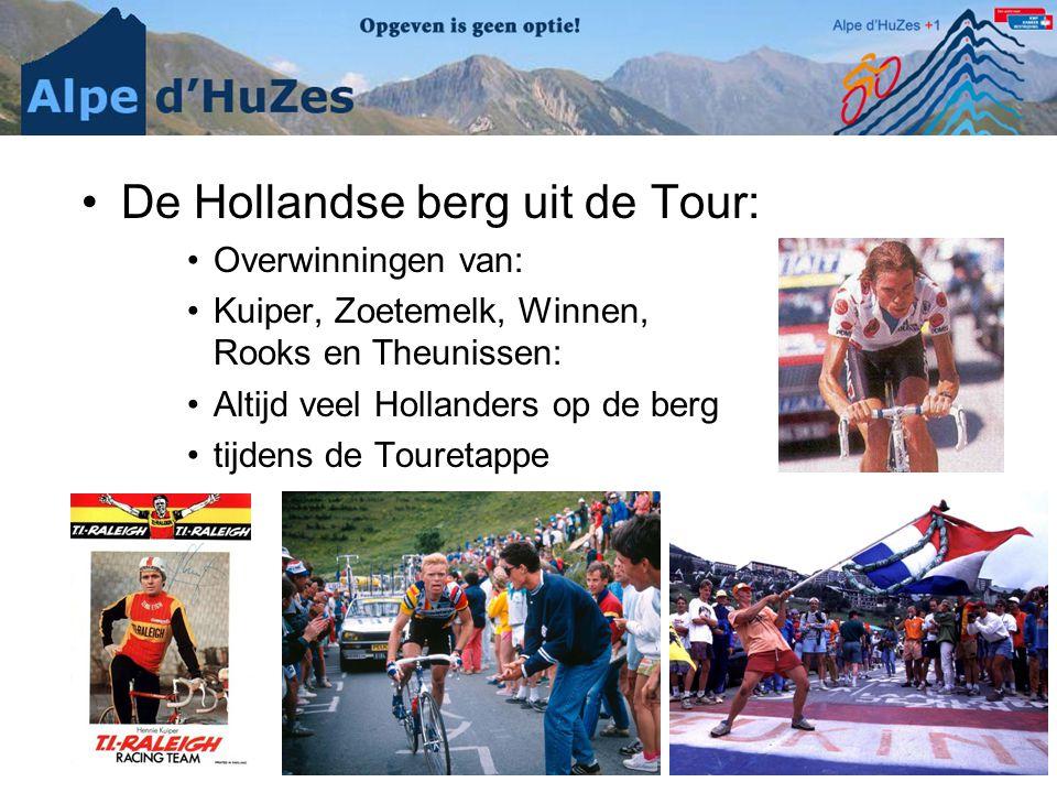 De Hollandse berg uit de Tour: