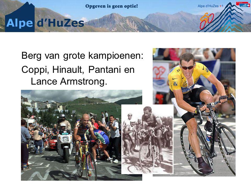 Berg van grote kampioenen: