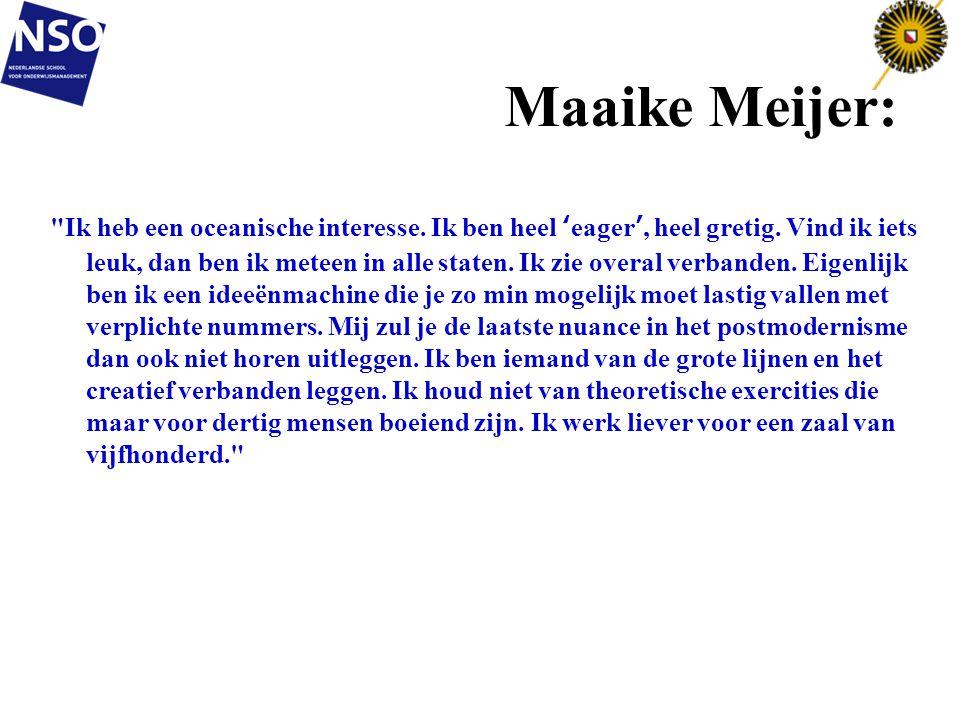 Maaike Meijer: