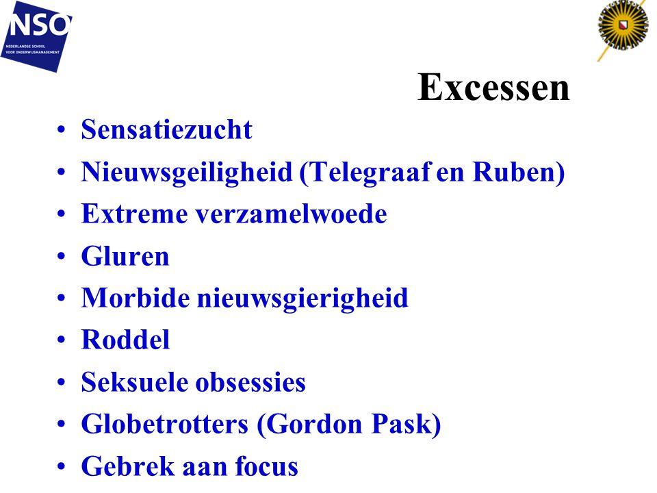 Excessen Sensatiezucht Nieuwsgeiligheid (Telegraaf en Ruben)