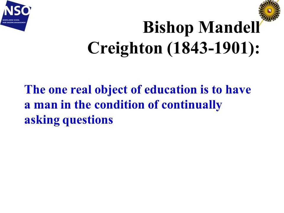 Bishop Mandell Creighton (1843-1901):