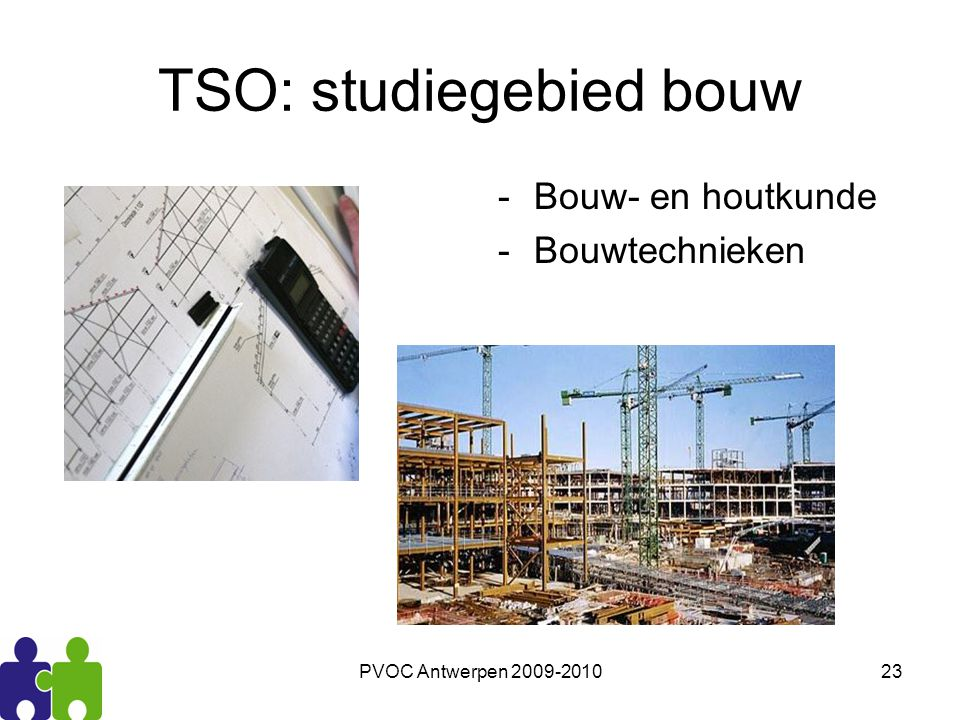 TSO: studiegebied bouw