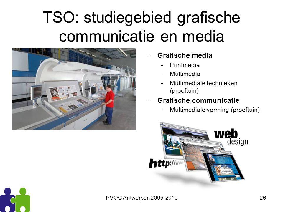 TSO: studiegebied grafische communicatie en media