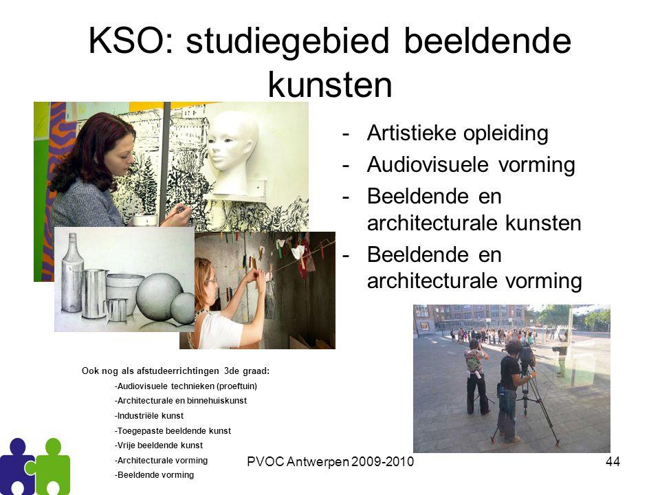 KSO: studiegebied beeldende kunsten