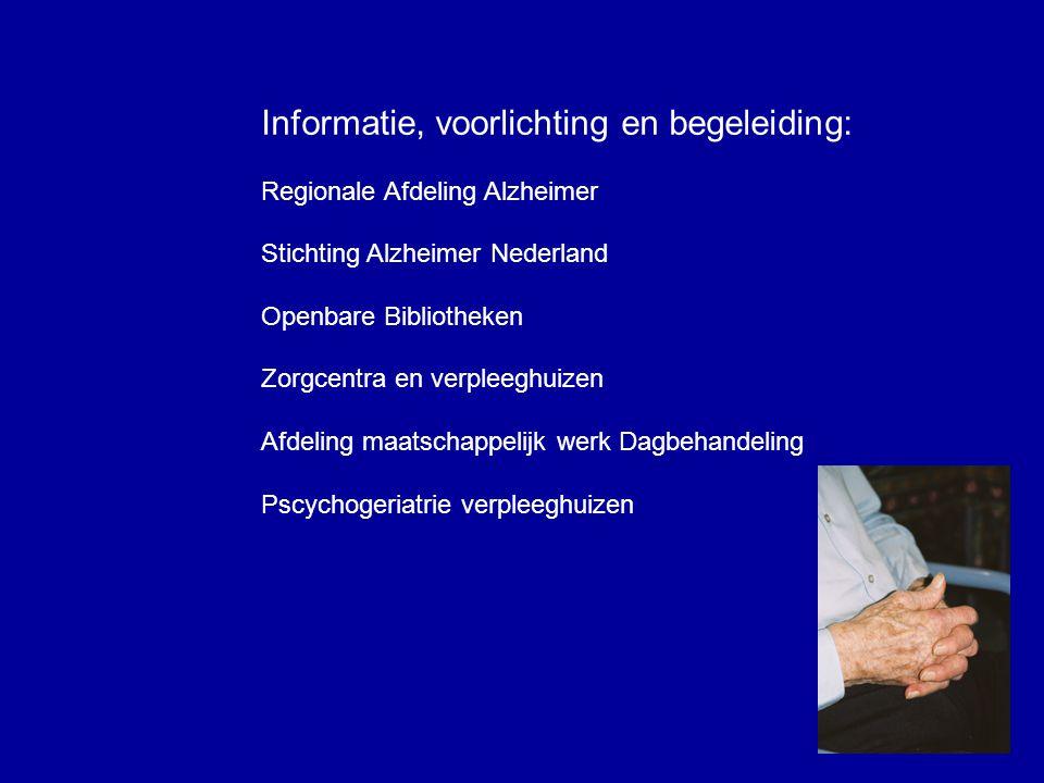 Informatie, voorlichting en begeleiding: