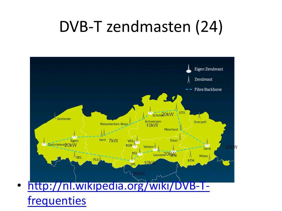 DVB-T zendmasten (24) http://nl.wikipedia.org/wiki/DVB-T-frequenties