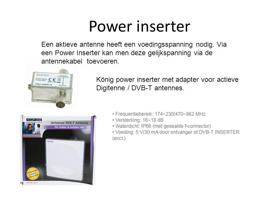 Power inserter