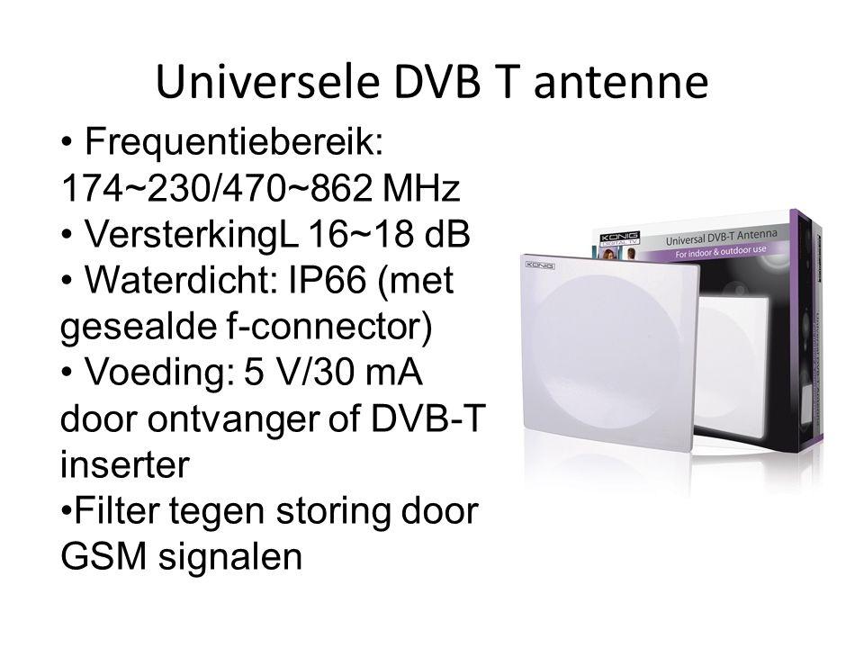 Universele DVB T antenne