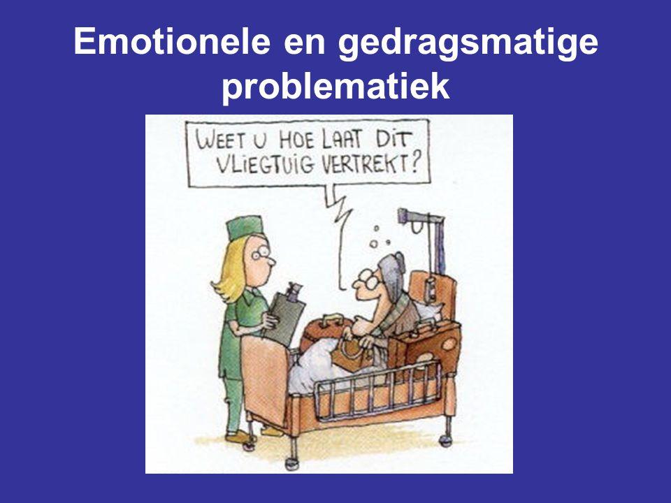 Emotionele en gedragsmatige problematiek