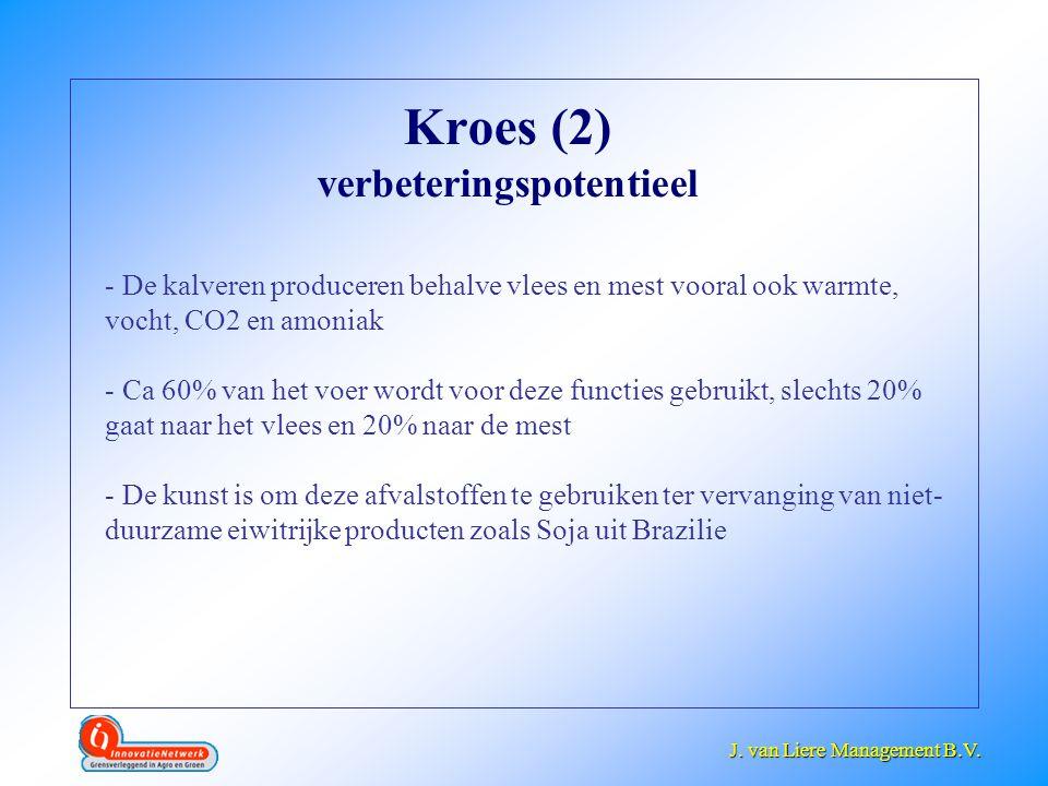Kroes (2) verbeteringspotentieel