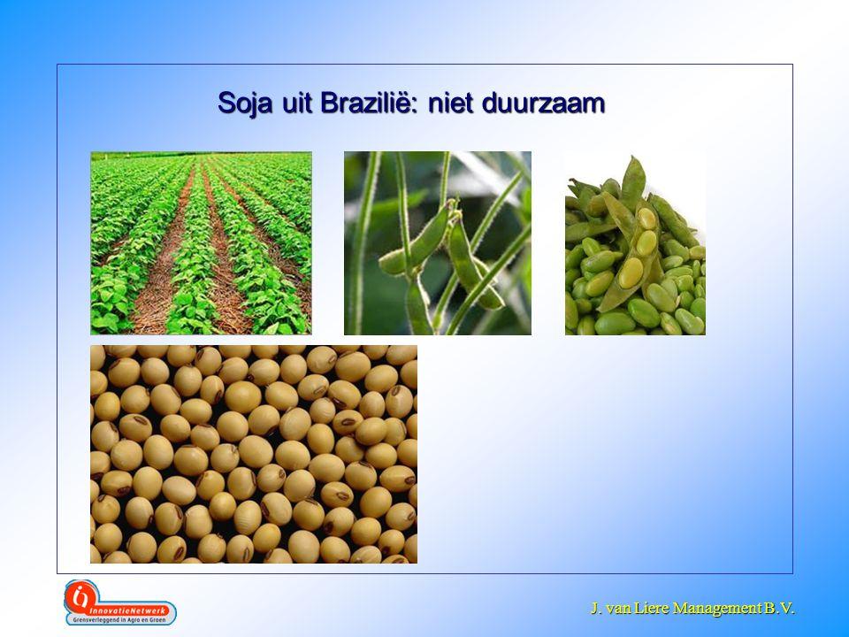 Soja uit Brazilië: niet duurzaam
